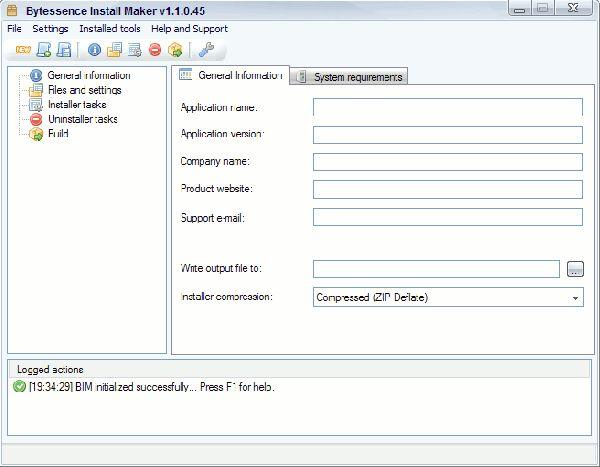 Vorschau Bytessence InstallMaker - Bild 1