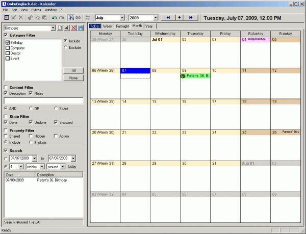 Vorschau UKs Kalender - Bild 1