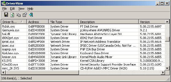 Vorschau DriverView - Bild 1