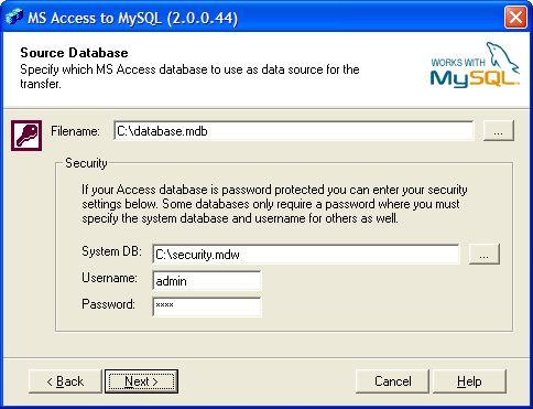 Vorschau BullZip Access To MySQL - Bild 1