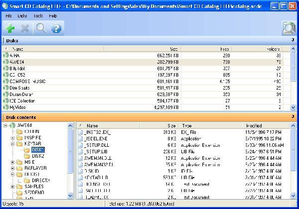 Vorschau Smart CD Catalog Lite - Bild 1
