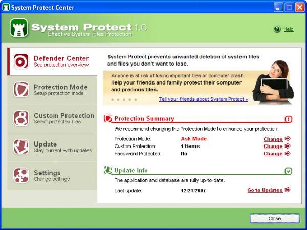 Vorschau System Protect - Bild 1