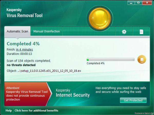 Vorschau Kaspersky Virus Removal Tool - Bild 1