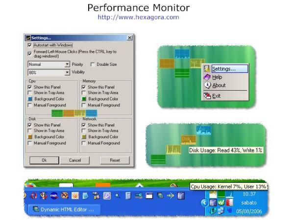 Vorschau Performance Monitor - Bild 1