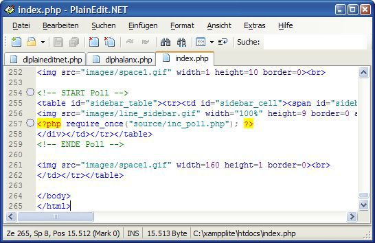 Vorschau PlainEdit.NET - Bild 1