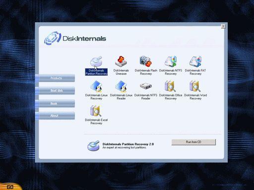 Vorschau DiskInternals Boot CD - Bild 1