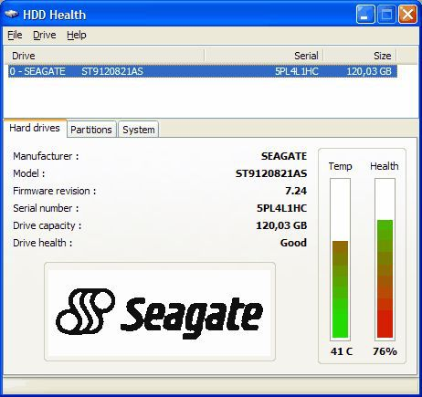 Vorschau HDD Health - Bild 1