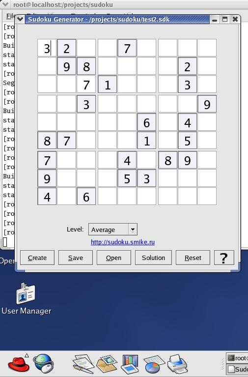 Vorschau Sudoku Generator for Linux - Bild 1