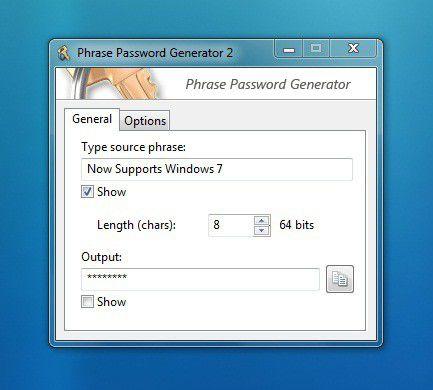 Vorschau Phrase Password Generator - Bild 1