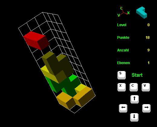 Vorschau 3D Tetris - Bild 1