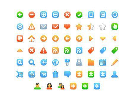 Vorschau Free web development icons - Bild 1