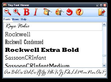 Vorschau Tiny Font Viewer - Bild 1
