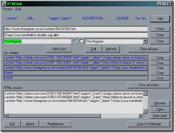 Vorschau HTMLlink - Bild 1