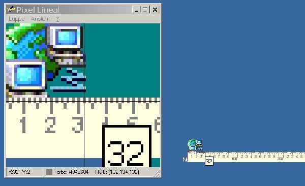 Vorschau Pixel-Lineal - Bild 1