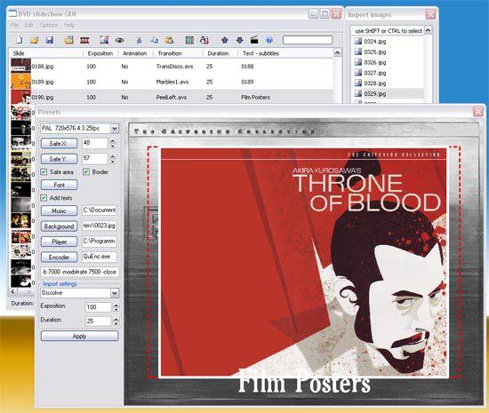 Vorschau DVD Slideshow GUI - Bild 1