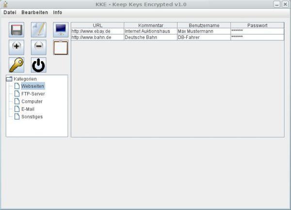 Vorschau KKE - Keep Keys Encrypted - Bild 1