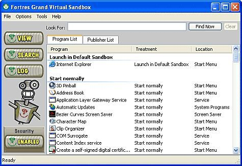 Vorschau Virtual Sandbox Free Edition - Bild 1