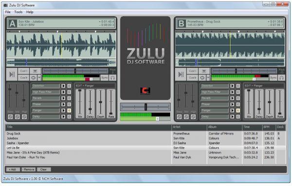 Vorschau Zulu DJ Audio Software - Bild 1