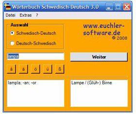 Vorschau Woerterbuch Schwedisch - Deutsch - Bild 1