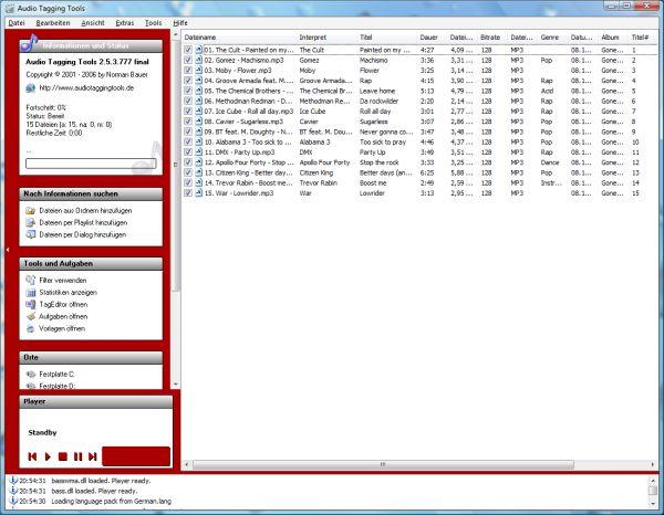 Vorschau Audio Tagging Tools - Bild 1