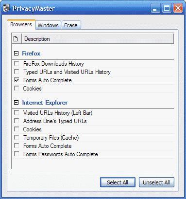 Vorschau PrivacyMaster - Bild 1