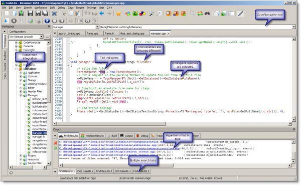 Vorschau CodeLite - Bild 1