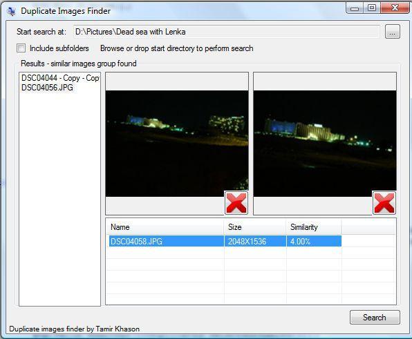 Vorschau Duplicate Images Finder - Bild 1