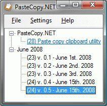 Vorschau PasteCopy.NET - Bild 1