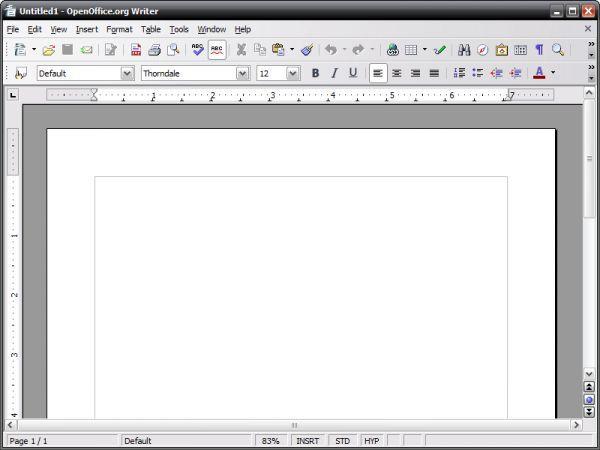Vorschau OpenOffice.org Portable - Bild 1