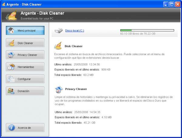 Vorschau Argente - Disk Cleaner - Bild 1