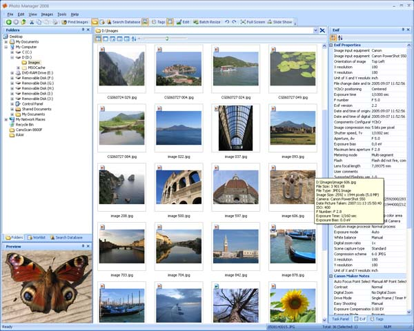 Vorschau Photo Manager 2008 Standard - Bild 1