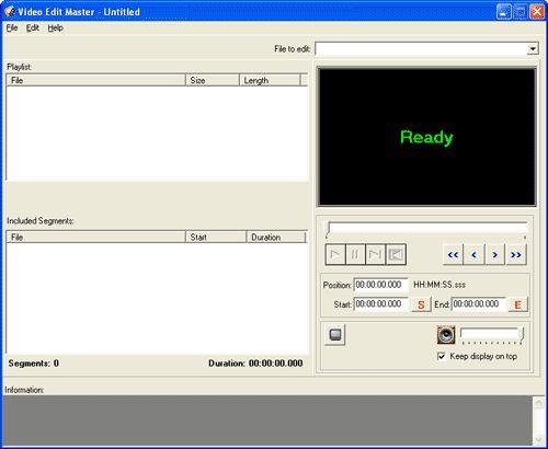 Vorschau Video Edit Master - Bild 1