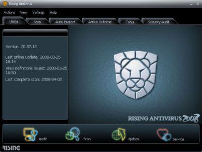 Vorschau Rising Antivirus Free Edition - Bild 1