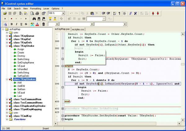 Vorschau EControl Syntax Editor - Bild 1