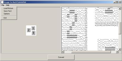 Vorschau Bitmap - Image to ASCII Converter - Bild 1