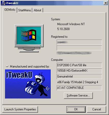 Vorschau iTweakU - Bild 1