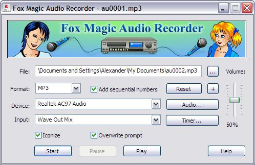 Vorschau Fox Magic Audio Recorder - Bild 1
