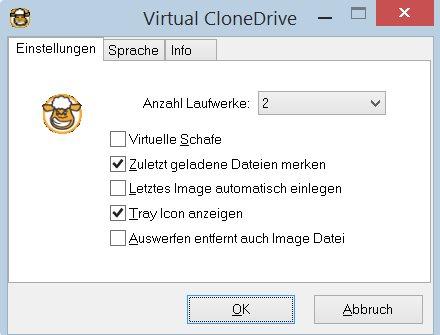 Vorschau Virtual CloneDrive - Bild 1