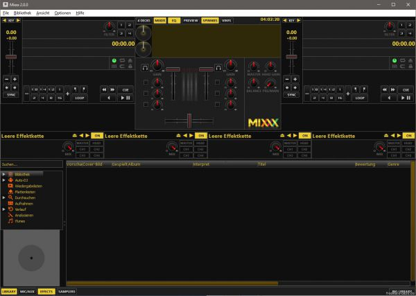 Vorschau Mixxx - Bild 1