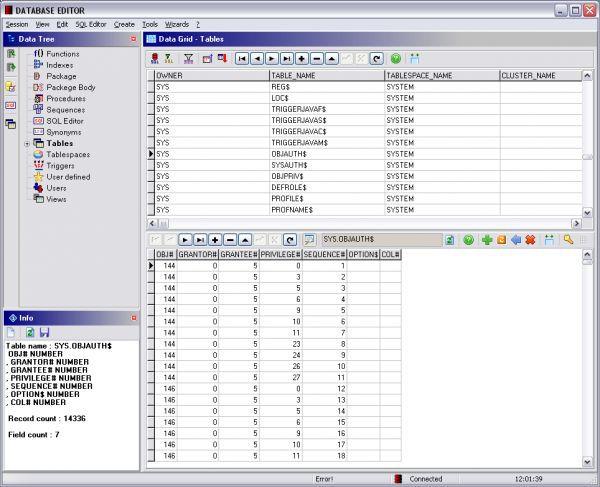 Vorschau Database Editor - Bild 1