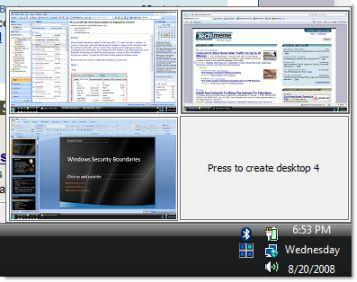 Vorschau Sysinternals Desktops - Bild 1