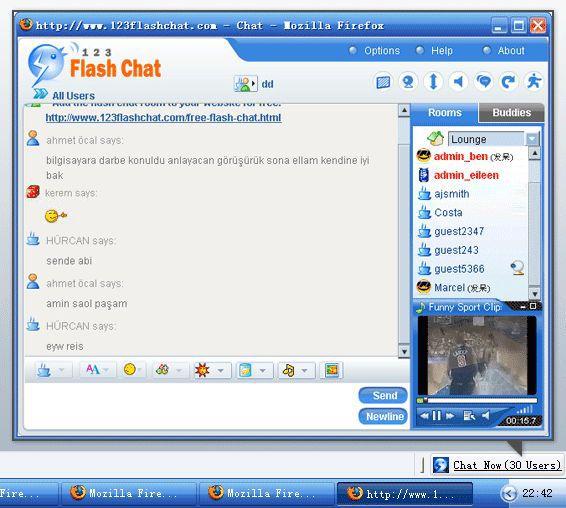 Vorschau 123FlashChat-for-Firefox - Bild 1