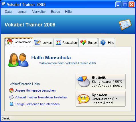 Vorschau Vokabel Trainer - Bild 1