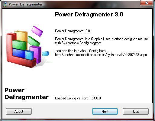 Vorschau Power Defragmenter - Bild 1