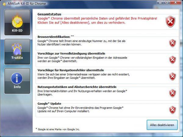 Vorschau Kill-ID fuer Chrome - Bild 1