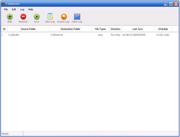 Vorschau FileMyster - Bild 1