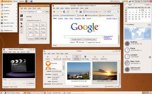 Vorschau Ubuntu und Kubuntu - Intrepid Ibex - Bild 1
