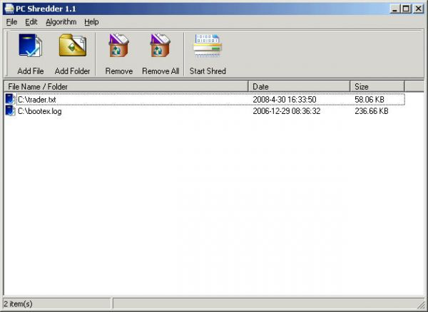 Vorschau PC Shredder - Bild 1