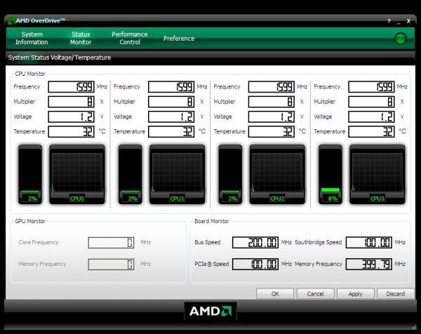 Vorschau AMD OverDrive - Bild 1