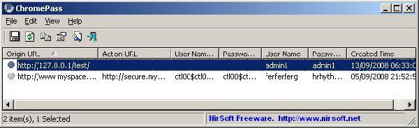 Vorschau ChromePass - Bild 1
